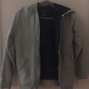 Boy's' gray hoodie